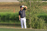 Paul Casey (ENG) in the rough on the 18th hole during Saturday's Round 3 of the Porsche European Open 2018 held at Green Eagle Golf Courses, Hamburg Germany. 28th July 2018.<br /> Picture: Eoin Clarke | Golffile<br /> <br /> <br /> All photos usage must carry mandatory copyright credit (&copy; Golffile | Eoin Clarke)