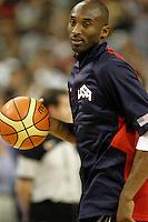 USA's Kobe Bryant during friendly match.July 22,2012. (ALTERPHOTOS/Acero) /NortePhoto.com*<br /> **CREDITO*OBLIGATORIO** <br /> *No*Venta*A*Terceros*<br /> *No*Sale*So*third*<br /> *** No Se Permite Hacer Archivo**