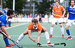UTRECHT - Manu Stockbroekx (Bldaal)  tijdens de hockey hoofdklasse competitiewedstrijd heren:  Kampong-Bloemendaal (3-3).    COPYRIGHT KOEN SUYK