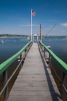 Pier, Great Island, Castine, Maine, US