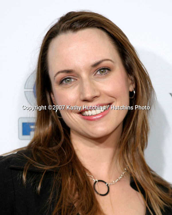 "Julie Ann Emery.""Resurrecting The Champ"" Premiere.Beverly Hills,  CA.Aug 22, 2007.©2007 Kathy Hutchins / Hutchins Photo...."