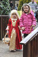REPRO FREE: EASTER SUNDAY EGG HINT TRALEE:.Ruby Templeton and Bea Stack from Listowel pictured at the Cadbury Easter Egg Hunt in the Ballygarry House Hotel & Spa in Tralee on Easter Sunday..Picture by Don MacMonagle