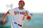 6 March 2007: Washington Nationals third baseman Ryan Zimmerman in Grapefruit League action against the Atlanta Braves at Space Coast Stadium in Viera, Florida.<br /> <br /> Mandatory Photo Credit: Ed Wolfstein Photo
