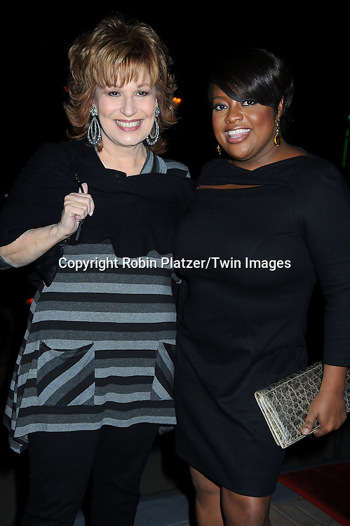 Joy Behar and Sherri Shepherd attending ABC Casino Night on October 28, 2010 at Guastavinos in New York City. .