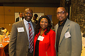 The Hyde Park Chamber of Commerce held its 76th Annual Dinner and Awards Ceremony Wednesday evening at the Center for Innovation Exchange located at 1452 E. 53rd Street.<br /> <br /> 1972 &ndash; Torrence Moore of VEDC Illinois, Theresa Handley of Wintrust Financial and Jeff Shavers of the Hyatt Place Chicago South<br /> <br /> Please 'Like' &quot;Spencer Bibbs Photography&quot; on Facebook.<br /> <br /> All rights to this photo are owned by Spencer Bibbs of Spencer Bibbs Photography and may only be used in any way shape or form, whole or in part with written permission by the owner of the photo, Spencer Bibbs.<br /> <br /> For all of your photography needs, please contact Spencer Bibbs at 773-895-4744. I can also be reached in the following ways:<br /> <br /> Website &ndash; www.spbdigitalconcepts.photoshelter.com<br /> <br /> Text - Text &ldquo;Spencer Bibbs&rdquo; to 72727<br /> <br /> Email &ndash; spencerbibbsphotography@yahoo.com