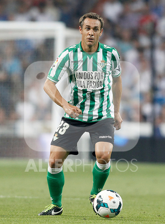 Betis' Nacho Perez during La Liga match.August 18,2013. (ALTERPHOTOS/Acero)