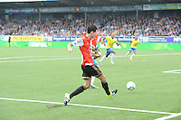 VOETBAL: LEEUWARDEN: 16-08-2015, SC Cambuur - Feyenoord, uitslag 0-2, Joey Sleegers (# 20), ©foto Martin de Jong