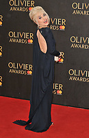 Tracie Bennett at the Olivier Awards 2018, Royal Albert Hall, Kensington Gore, London, England, UK, on Sunday 08 April 2018.<br /> CAP/CAN<br /> &copy;CAN/Capital Pictures<br /> CAP/CAN<br /> &copy;CAN/Capital Pictures