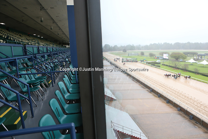 March 14, 2020: Scenery during the rebel stakes day at Oaklawn Racing Casino Resort in Hot Springs, Arkansas. ©Justin Manning/Eclipse Sportswire/CSM