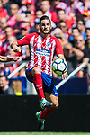 Jorge Resurreccion Merodio, Koke, of Atletico de Madrid in action during the La Liga 2017-18 match between Atletico de Madrid and Sevilla FC at the Wanda Metropolitano on 23 September 2017 in Wanda Metropolitano, Madrid, Spain. Photo by Diego Gonzalez / Power Sport Images