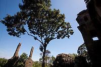 Viana_ES, Brasil...Ruinas da Igreja Nossa Senhora de Belem...Ruins of Nossa Senhora de Belem church...Foto: LEO DRUMOND / NITRO