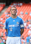 24 June 2007: Kansas City's Jimmy Conrad. The Houston Dynamo defeated the Kansas City Wizards 1-0 at Arrowhead Stadium in Kansas City, Missouri in a regular season Major League Soccer 2007 game..
