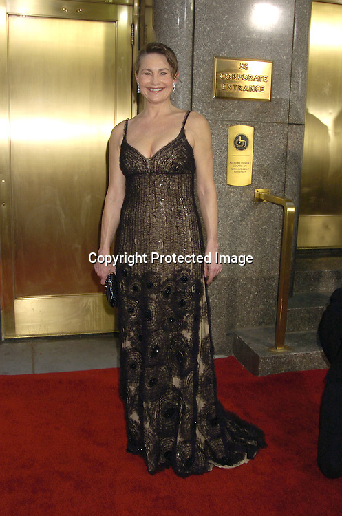 Cherry Jones ..arriving at the 59th Annual Tony Awards on June 5, 2005 at ..Radio City Music Hall. ..Photo by Robin Platzer, Twin Images