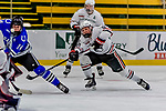 29 December 2018: Northeastern University Huskies Forward Zach Solow, a Sophomore from Naples, FL, in first period action against the University of Alabama Huntsville Chargers at Gutterson Fieldhouse in Burlington, Vermont. The Huskies shut out the Chargers 2-0 in the Catamount Cup tournament at the University of Vermont. Mandatory Credit: Ed Wolfstein Photo *** RAW (NEF) Image File Available ***
