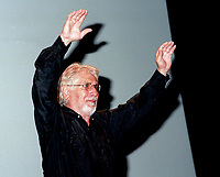 Montreal (QC)CANADA - File Photo- August 29 1996-<br />  Gilles Carle for the premiere of PUDDING CHOMEUR at the Montreal World Film Festival.