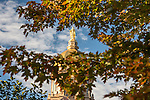BJ 10.11.16 Golden Dome 10484.JPG by Barbara Johnston/University of Notre Dame