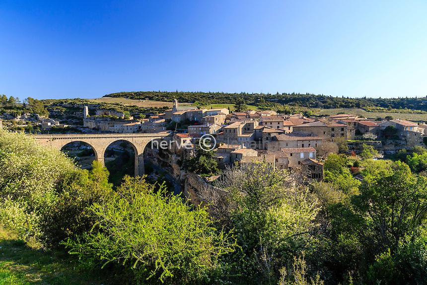 France, H&eacute;rault (34), Minerve, labellis&eacute; Les Plus Beaux Villages de France // France, Herault, Minerve, labelled Les Plus Beaux Villages de France (The Most beautiful<br /> Villages of France)