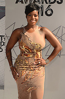 LOS ANGELES, CA - JUNE 26: Fantasia Barrino at the 2016 BET Awards at the Microsoft Theater on June 26, 2016 in Los Angeles, California. Credit: David Edwards/MediaPunch