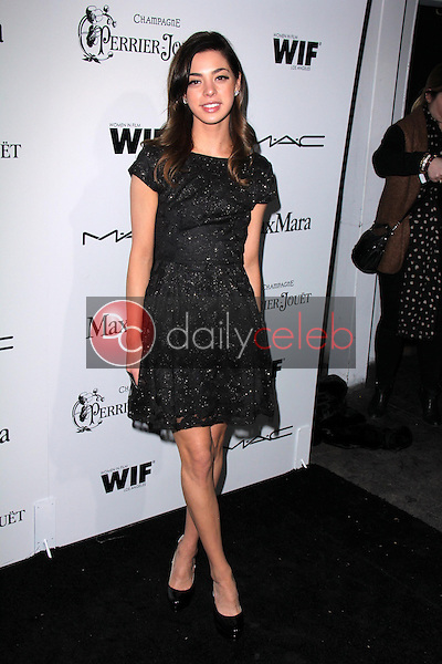 Gia Mantegna<br /> at the Sixth Annual Women In Film Pre-Oscar Coctail Party, Fig &amp; Olive, Los Angeles, CA 02-22-12<br /> David Edwards/DailyCeleb.com 818-249-4998