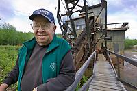 Stanton Patty, Coal Creek Dredge, along Coal Creek, Yukon River, Yukon Charley Rivers National Preserve, Alaska.