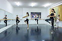 "Zadar, Croatia. 18.10.2018. Choreographer and dancer, Sanja Petrovski, teaches her 4th year ballet students in the dance department at Glazbena Skola (Music School) ""Blagoje Bersa"", in Zadar, Croatia. Photograph © Jane Hobson."