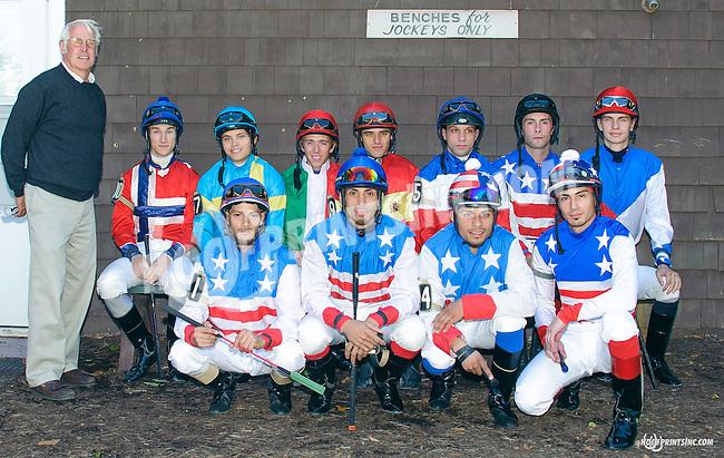 Ebreeq before The Longines Gentlemans International Fegentri race at Delaware Park on 9/14/15
