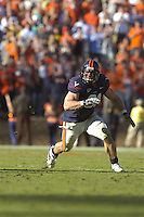 03 November 2007:  Virginia DE Chris Long (91)..The Virginia Cavaliers defeated the Wake Forest Demon Deacons  17-16 November 3, 2007 at Scott Stadium in Charlottesville, VA..