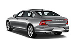 Car pictures of rear three quarter view of a 2018 Volvo S90 T6 Inscription 4 Door Sedan angular rear