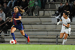 Spanish Women's Football League Iberdrola 2017/18 - Game: 9.<br /> FC Barcelona vs Madrid CFF: 7-0.<br /> Lieke Martens vs Paula Serrano.