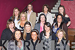 Karina Galvin Loreto Road, Killarney with her hen party in McSorleys, Killarney before they headed off to Kenmare on Saturday front row l-r: Barbara O'Leary, Karina Galvin, Niamh Carroll. Second row: Patricia Guerin, Ciara Sheehan, Claire Tangney, Marlene O'Donoghue. Back row: Terry Gallivan, Ann Marie Gallivan, Sinead O'Neill, Sinead Courtney, Ellen Cagney and Jessica Guerin
