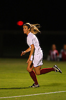 14 September 2007: Stanford Cardinal Kelley Birch during Stanford's 3-2 win in the Stanford Invitational against the Missouri Tigers at Maloney Field in Stanford, CA.