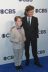 Iain Armitage (left) and Montana Jordan arrive at the CBS Upfront at The Plaza Hotel in New York City on May 17, 2017.