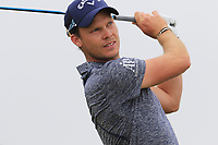 Danny Willett (ENG) has to play a 2nd ball off the 2nd tee during Saturday's Round 3 of the 2018 Dubai Duty Free Irish Open, held at Ballyliffin Golf Club, Ireland. 7th July 2018.<br /> Picture: Eoin Clarke | Golffile<br /> <br /> <br /> All photos usage must carry mandatory copyright credit (&copy; Golffile | Eoin Clarke)