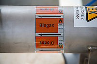Biogas label