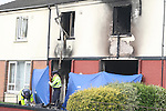 House fire in Moneymore, Drogheda that claimed the lives of three people leaving another in a critical condition with 60% burns...Photo NEWSFILE/Jenny Matthews.(Photo credit should read Jenny Matthews/NEWSFILE)....This Picture has been sent you under the condtions enclosed by:.Newsfile Ltd..The Studio,.Millmount Abbey,.Drogheda,.Co Meath..Ireland..Tel: +353(0)41-9871240.Fax: +353(0)41-9871260.GSM: +353(0)86-2500958.email: pictures@newsfile.ie.www.newsfile.ie.FTP: 193.120.102.198.
