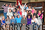 9500-9504.Celebrating 21 years : Charlie Bentley, Balloonagh Est, Tralee (seated centre) had a cracking time at his 21st birthday bash last Saturday night in the Abbey Gate hotel, Tralee with many family and friends.