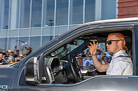 LAS VEGAS, NV - April 29: Cody Eakin Las Vegas Golden Knights Send Off at City National Arena  in Summerlin, Nevada on April 29, 2018. Credit: Damairs Carter/MediaPunch