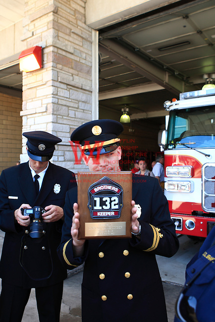 25 April 2009: MTFD Station 132 Engine dedication.