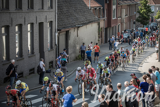 Peloton chasing with only 2 local laps to go. <br /> <br /> GP Marcel Kint 2018 <br /> Kortrijk > Zwevegem 174.8km (BELGIUM)