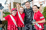 Pictured at the Rose of Tralee 10k on Sunday morning at Tralee Bay Wetlands were l-r: Sarah Higgins, Ciara Rogers, John and Kathleen Collins, (all from Tralee).