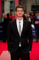 Andrew Garfield arriving for the World Premiere of 'The Amazing Spider-Man 2' at Odeon Leicester Square, London. 10/04/2014 Picture by: Dave Norton / Featureflash