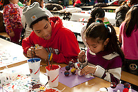 Chicago Public School students, and Target and Discover Card employees volunteer at Lloyd Elementary Chicago in Chicago for Chicago Cares MLK Celebration of Service day.