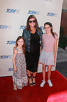 Tiffany Amber Thiessen and friends daughters<br />