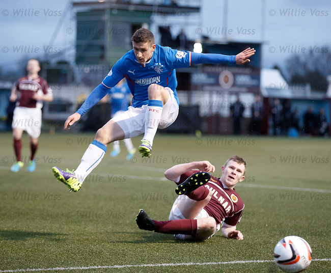 Fraser Aird in the air