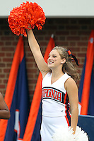 Sept. 3, 2011 - Charlottesville, Virginia - USA; Virginia Cavaliers Cheerleaders cheer during an NCAA football game against William & Mary at Scott Stadium. Virginia won 40-3. (Credit Image: © Andrew Shurtleff