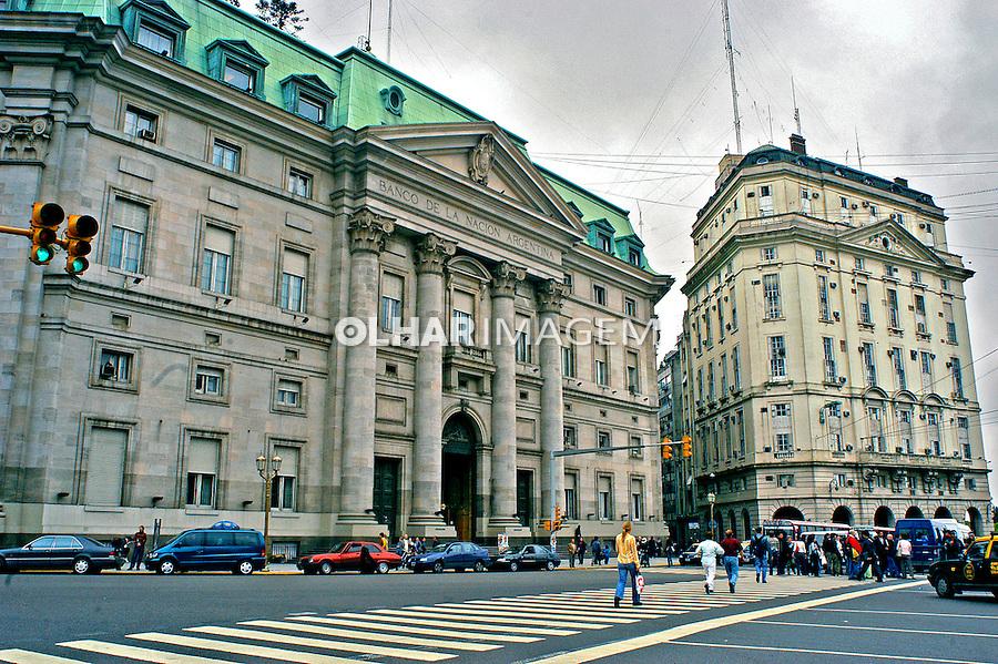 Banco Central argentino. Buenos Aires, Argentina. 2004. Foto de Thais Falcão.