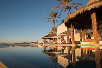 Early morning sunrise at the Ty Warner Mansion, Ventanas al Paraiso a Rosewood property, Los Cabos, Baja California Sur, Mexico