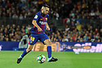 League Santander 2017/2018. Game: 03.<br /> FC Barcelona vs RCD Espanyol: 5-0.<br /> Jordi Alba.