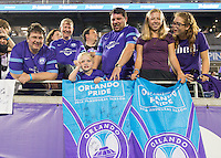 Orlando, FL - Friday Aug. 26, 2016:   during a regular season National Women's Soccer League (NWSL) match between the Orlando Pride and the Washington Spirit at Camping World Stadium.