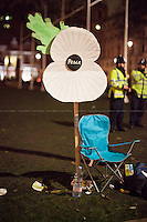"02.12.2015 - ""Protest & Die In: Don't vote for war"" - The Long Evening of Parliament Square"